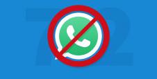Hoje: WhatsApp será bloqueado por 72 horas
